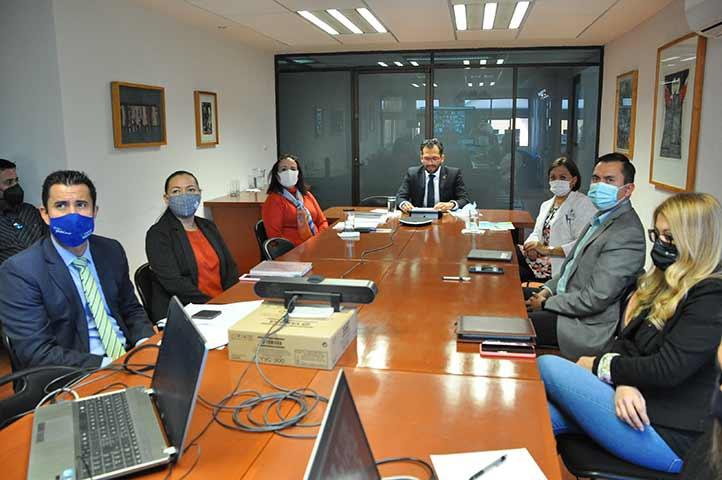 En las sesiones se contó con la participación del equipo que conforma a esta secretaría universitaria
