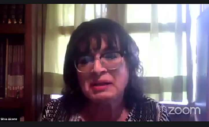 Silvia Jácome García, integrante del Programa de Integración y Desarrollo Social de Personas LGBTTTI