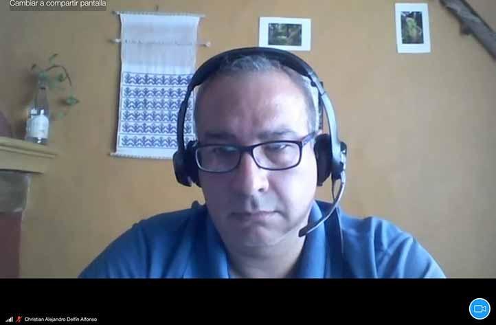 El investigador Christian Alejandro Delfín Alfonso fue el codirector de este trabajo de investigación