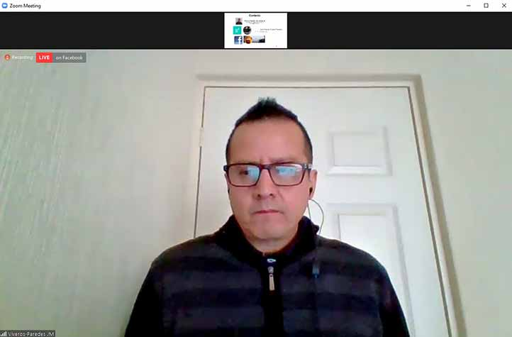 Juan Manuel Viveros Paredes, investigador de la UdeG