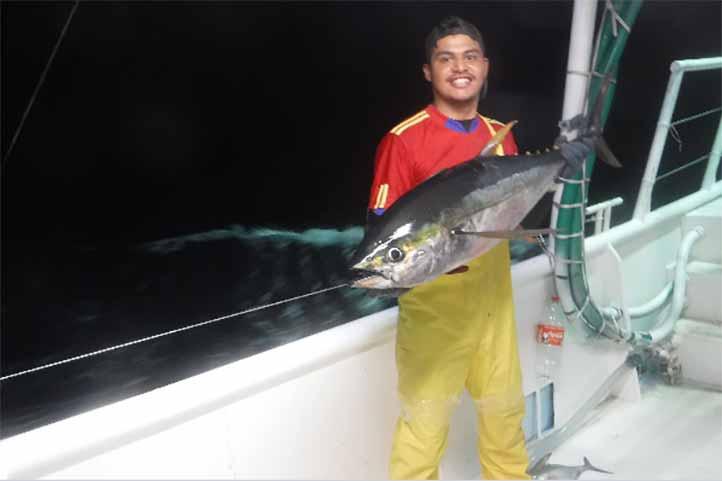 Para titularse de Biología Marina en la UV, Daniel Monter Tolentino hizo un estudio sobre el ciclo reproductor del atún aleta amarilla