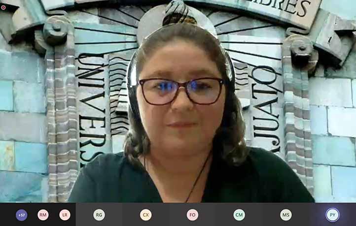 Suria Gisela Vásquez Morales participó en el 14 Simposio Interno de Investigación y Docencia de Inbioteca