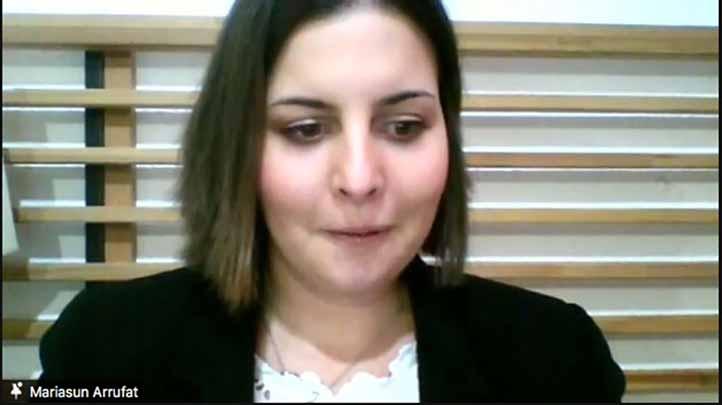 María Asunción Arrufat Pérez de Zafra, de la Universidad de Granada