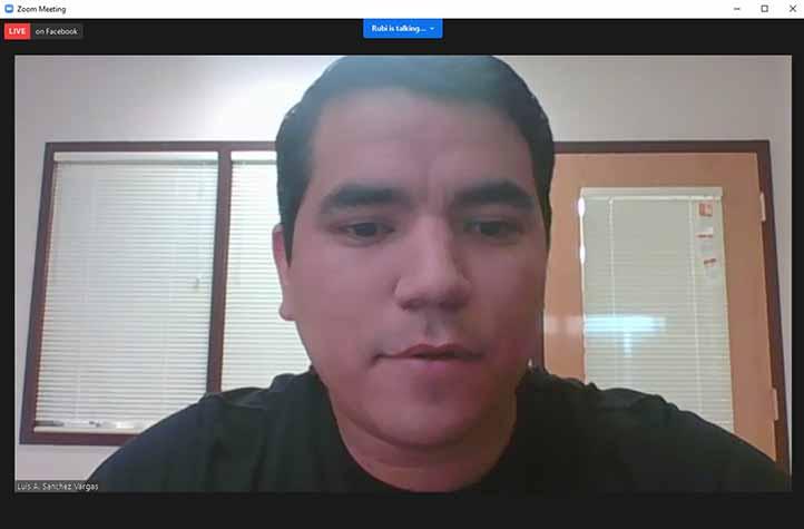 Luis Alberto Sánchez Vargas, investigador adscrito al CIB-UV ofreció conferencia sobre el dengue y estado actual de las vacunas