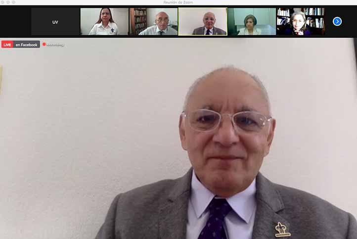 El vicerrector Alfonso Gerardo Pérez inauguró las actividades del encuentro