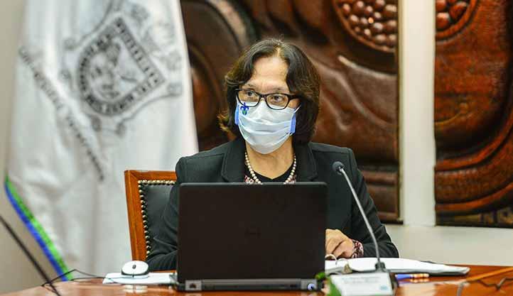 Magdalena Hernández Alarcón, secretaria Académica de la UV