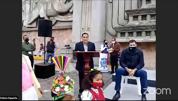 El vicerrector José Luis Alanís participó en la Declaratoria del Día Nacional de la Vainilla
