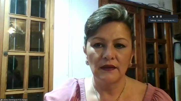 Liliana Domínguez Cañedo, directora de esta entidad académica, encabezó el evento realizado por Zoom