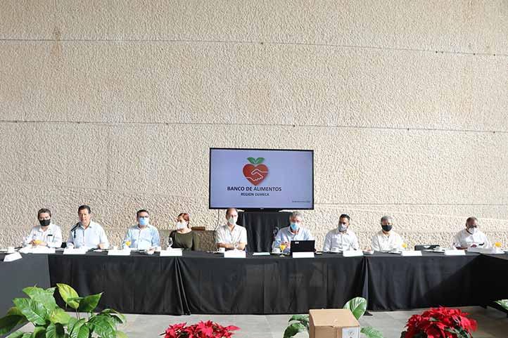 Presentación del programa del Banco de Alimentos