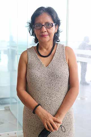 Georgina Hernández Ríos, directora de la Facultad de Trabajo Social