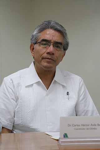 Carlos Ávila Bello, coordinador del CEIABio y líder del proyecto