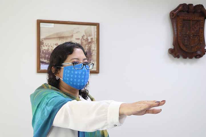 Fily Hernández Hernández, coordinadora del Centro de Idiomas