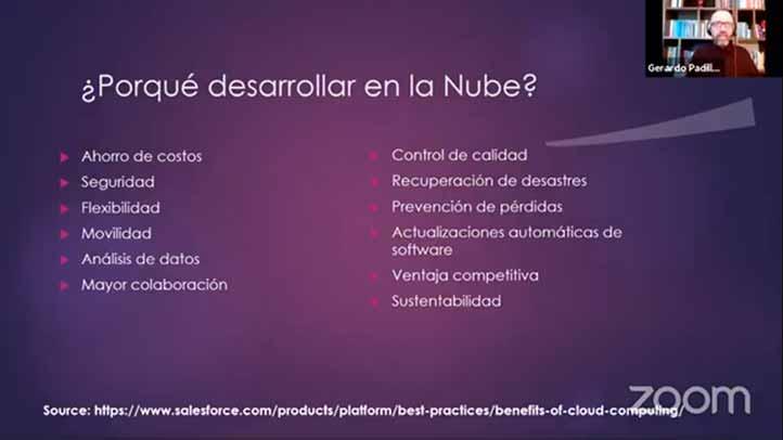 El desarrollo de software en la nube conlleva ahorro de costos, además de mecanismos de seguridad más estrictos