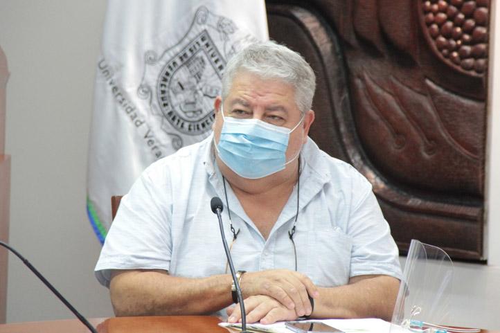 Manuel Huerta manifestó que la reunión con la UV servirá al pueblo de Veracruz y México