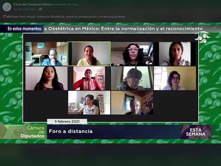 Especialistas de la partería, de la academia y de la sociedad civil organizada presentaron reflexiones sobre la violencia obstétrica