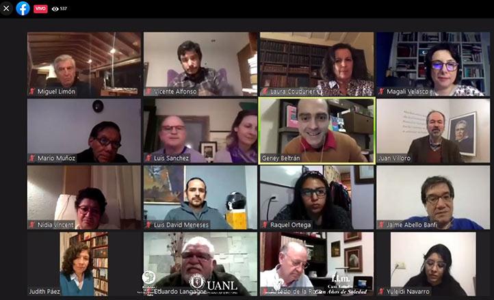 La segunda sesión del curso congregó a escritores, académicos e investigadores