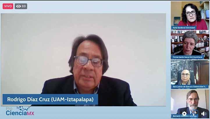 Rodrigo Díaz comentó que el Conacyt debe fortalecer la autonomía de las universidades, que haga florecer y proliferar los centros de investigación