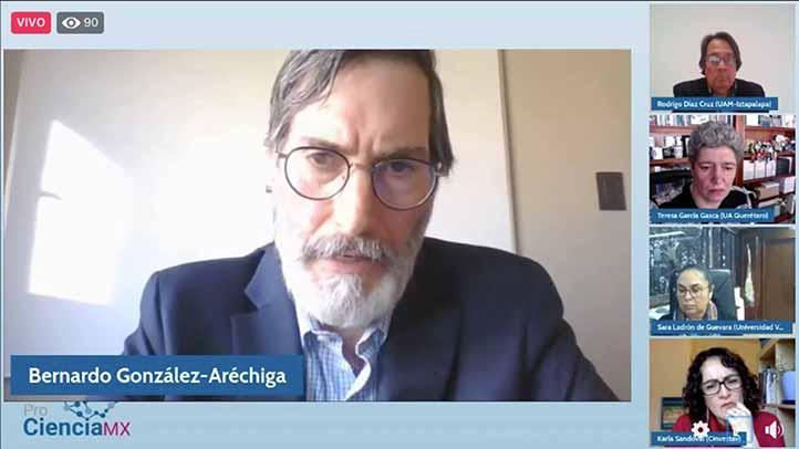Bernardo González dijo que es necesario actualizar el marco jurídico e institucional en materia de financiamiento para el desarrollo de ciencia y tecnología