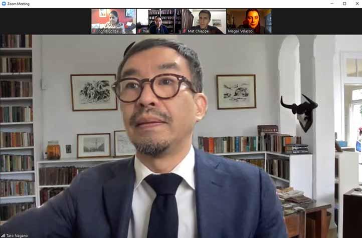 Taro Nagano, profesor de la Universidad Seisen de Tokio, Japón