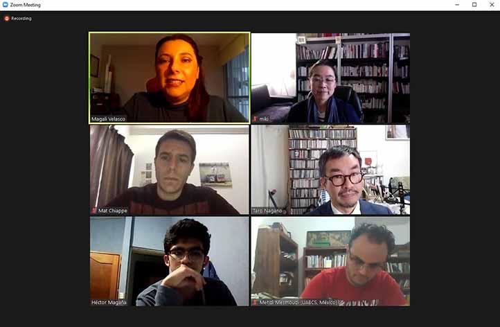 El académico habló de la mirada de los viajeros japoneses en Latinoamérica