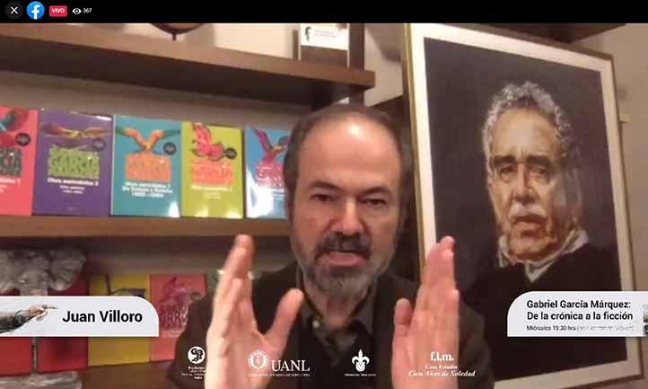 Juan Villoro aseguró que Relato de un náufrago es una obra cumbre del periodismo narrativo de García Márquez