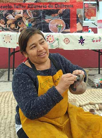 Minerva Chores ha trabajado para mejorar la calidad de vida de las mujeres y familias campesinas de Chiltoyac