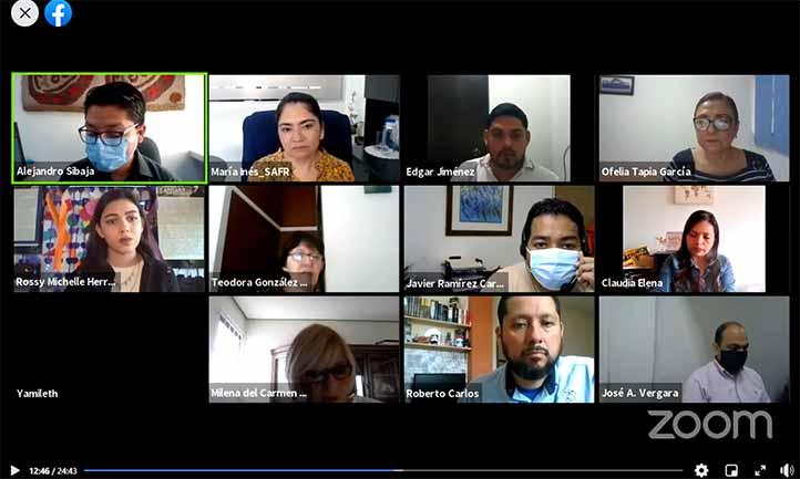 """Presentación del video """"Ser mujer en México y el mundo"""", realizado por Rossy Michelle Herrera Vaughan"""