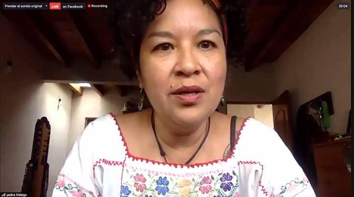 Yadira Hidalgo, directora del IMMX, reconoció la apertura y el apoyo de la máxima casa de estudios para la impartición del curso