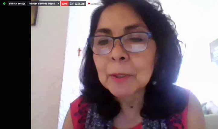 Beatriz Rodríguez, coordinadora de la Unidad de Género de la UV, dijo que incorporar la perspectiva de género hará un periodismo socialmente responsable
