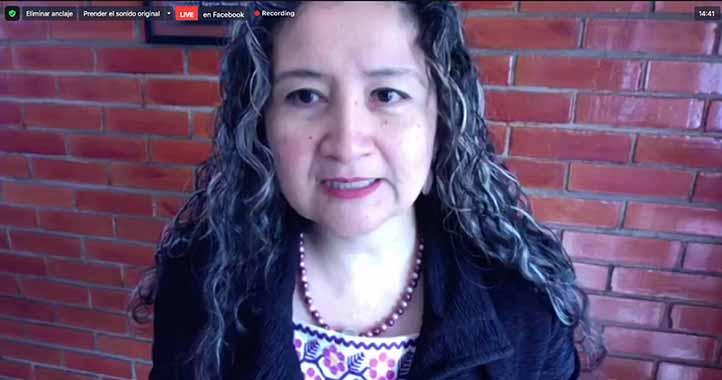 Estela Casados, coordinadora del Observatorio Universitario de Violencia Contra las Mujeres de la UV, subrayó que los medios tienen una importancia en la transmisión de los derechos y luchas de las mujeres