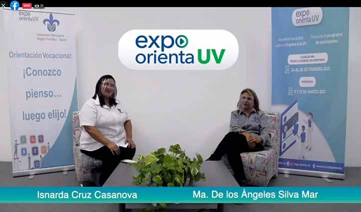 Isnarda Cruz y María de los Ángeles Silva participaron en Expo Orienta 2021