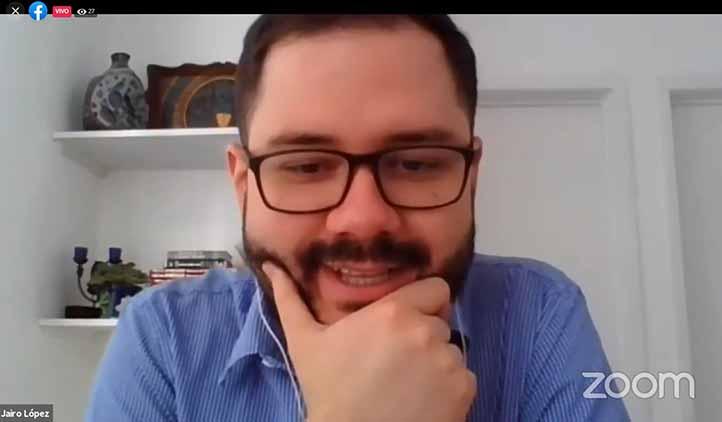 """En palabras de Antonio López, Restrepo es """"uno de los principales referentes en América Latina en torno al estudio y campo de los estudios culturales"""""""