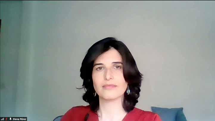 Elena Pérez Hernández, profesora de la Universidad Autónoma de Madrid