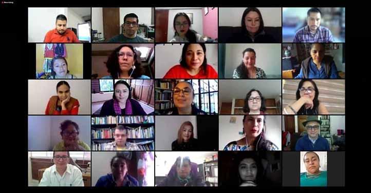 Asistentes al Diplomado Interculturalidad y Género. Cuidado de la Vida en un Mundo en Crisis