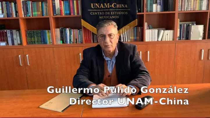 Guillermo Pulido González, del Centro de Estudios Mexicanos UNAM-China