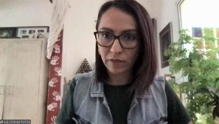Luz del Carmen Jiménez Portilla, docente e investigadora del CEG, anunció que el límite de registro es el 15 de abril