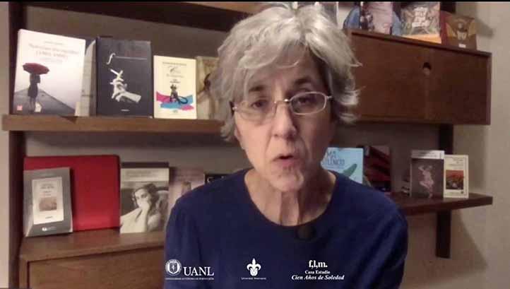 Lucía Melgar habló de la vida y obra de Cristina Peri Rossi