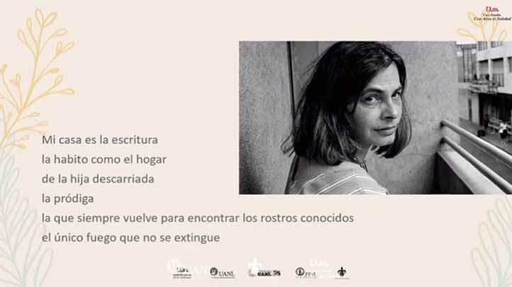 La poetisa y crítica literaria nacida en Montevideo, Uruguay, fue exiliada a principios de los años setenta