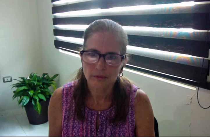 Lourdes Watty, responsable del Programa Institucional de Seguimiento de Egresados