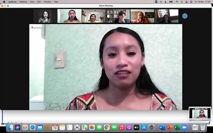 Paula Martínez realizó su investigación en dos comunidades de la Huasteca veracruzana