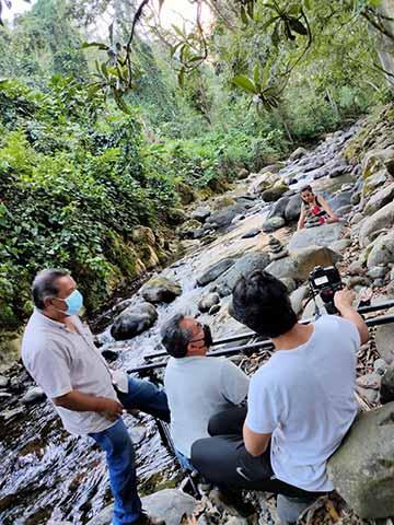 Aspectos de la grabación en ambientes naturales aledaños a la ciudad de Xalapa