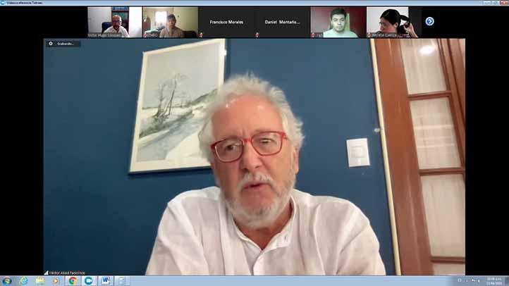 Héctor Abad Faciolince, novelista, traductor, crítico literario y poeta colombiano