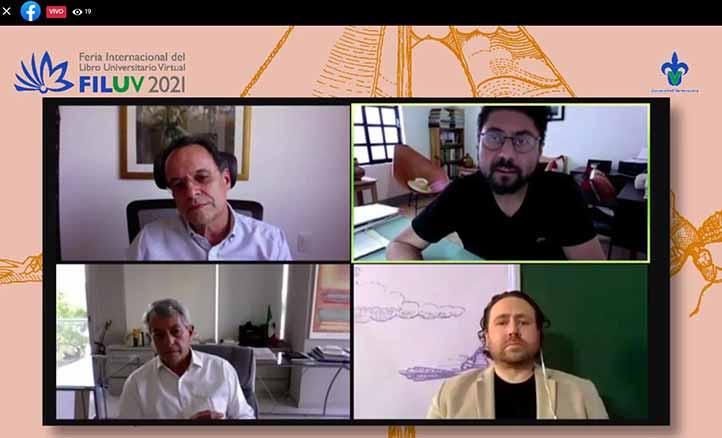 Alberto Olvera, Jaime Hernández, Mauricio Merino y José Galindo