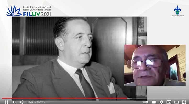 Ricardo Corzo comparó el pensamiento de Reyes Heroles con el de Benedetto Croce y habló sobre su influencia en la política nacional