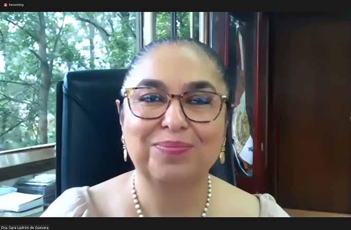 La rectora Sara Ladrón de Guevara destacó la participación de profesores de Brasil, Colombia, Estados Unidos y China
