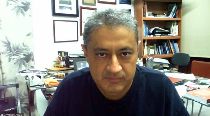 Armando Aguilar Meléndez, de la Facultad de Ingeniería Civil, región Poza Rica-Tuxpan