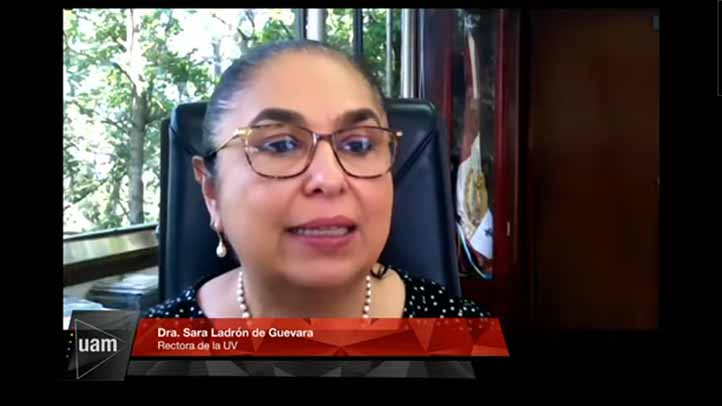 La rectora Sara Ladrón de Guevara habló sobre la desigualdad mundial en ciencia, tecnología e innovación