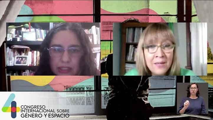 Diana Lan, profesora del Departamento de Geografía de la Universidad Nacional de La Plata, Argentina, participó en el 4º Congreso Internacional sobre Género y Espacio
