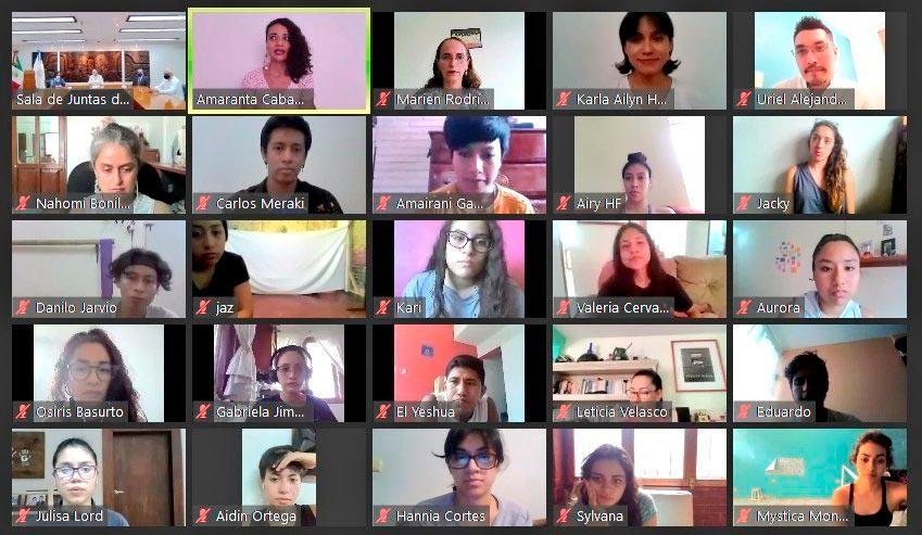 Estudiantes de la Facultad de Danza presentaron el cortometraje Pequeño gran sueño