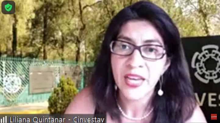 Liliana Quintanar Vera (Cinvestav)